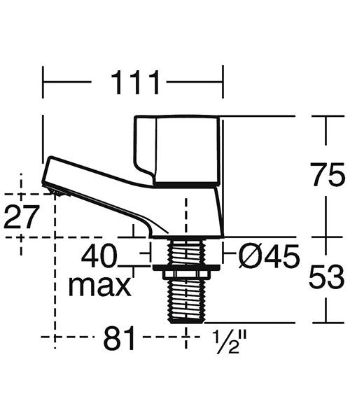 Technical drawing 33126 / B0349AA