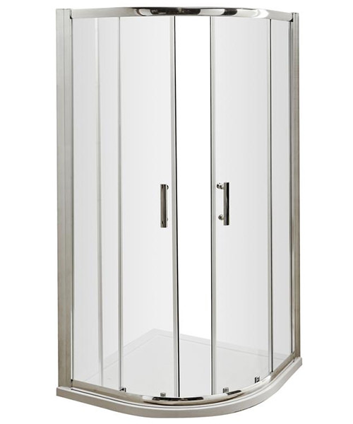 Lauren Pacific 800 x 800mm Quadrant Shower Enclosure