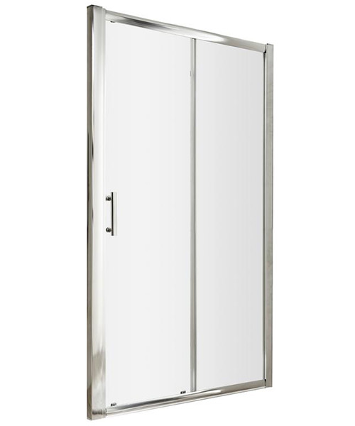 Lauren Pacific 1600 x 1850mm Single Sliding Shower Door