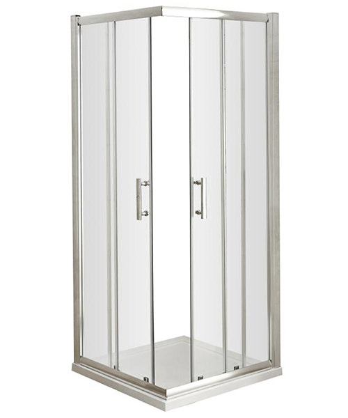 Lauren Pacific Corner Entry 800 x 800mm Shower Enclosure