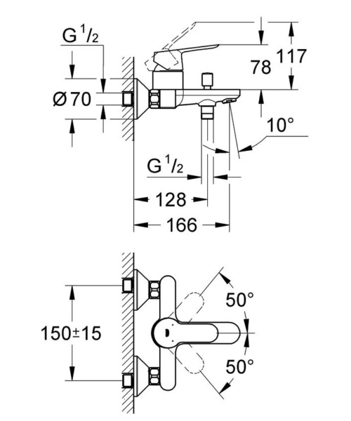 Technical drawing 51639 / 23334000