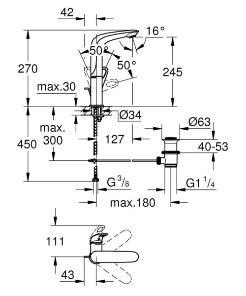 Technical drawing 51642 / 23569003