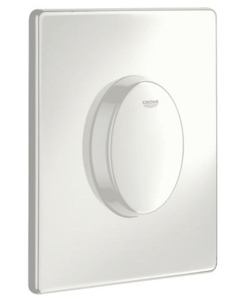 Grohe Skate Air WC Wall Plate Alpine White