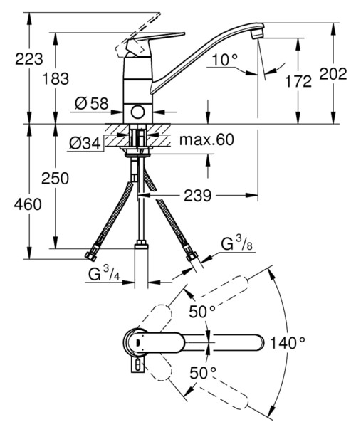 Technical drawing 54053 / 31161000