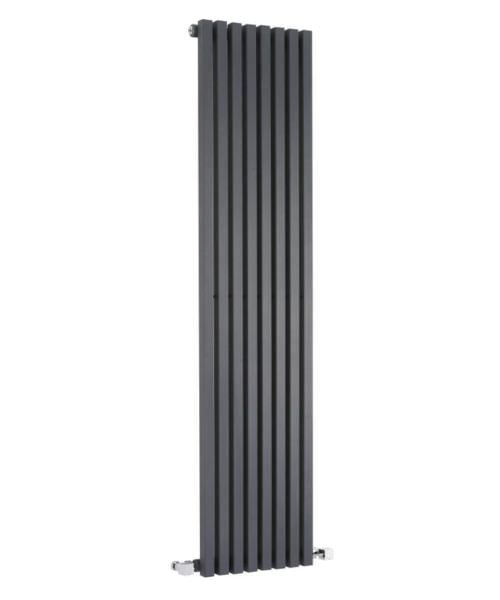 Hudson Reed Kinetic 360 x 1800mm Anthracite Vertical Designer Radiator