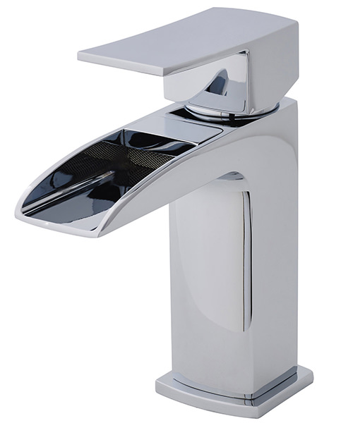 Ultra Moat Mono Open Spout Basin Mixer Tap