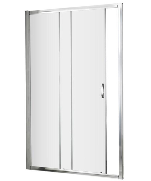 Nuie Premier Ella 1200 x 1850mm Single Sliding Shower Door