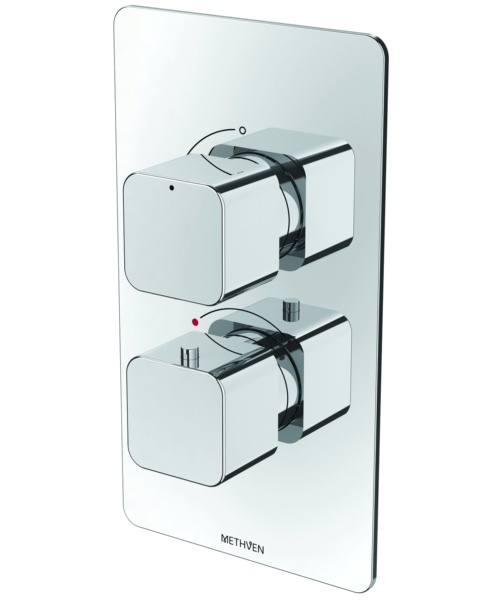 Methven Kiri Single Outlet Concealed Thermostatic Mixer Valve