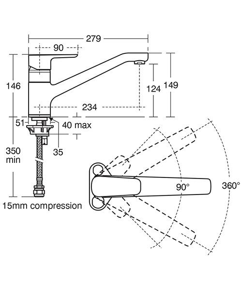 Technical drawing 37866 / B0766AA
