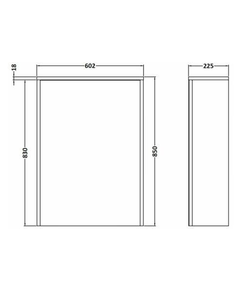Technical drawing 53321 / FMC946