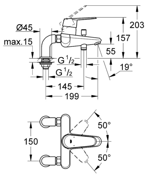 Technical drawing 51667 / 33392002