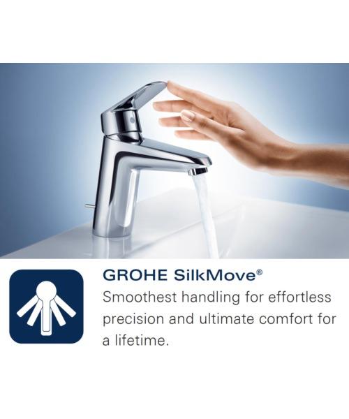 Additional image of Grohe Eurodisc Cosmopolitan Half Inch Bath Shower Mixer Tap