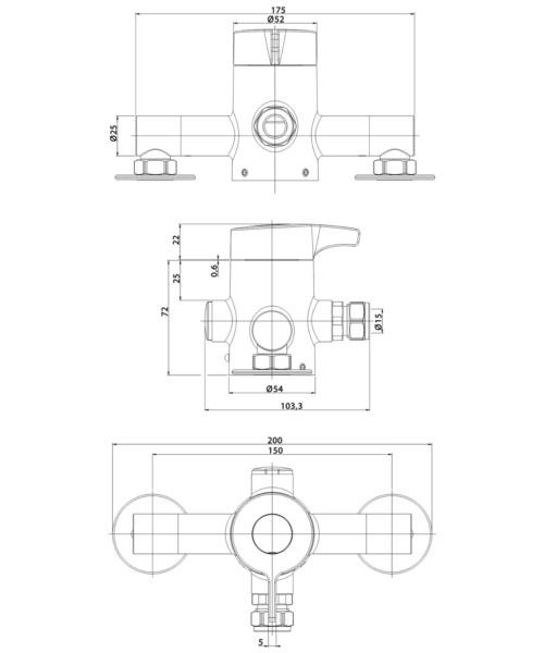 Technical drawing 41294 / KISSMCP