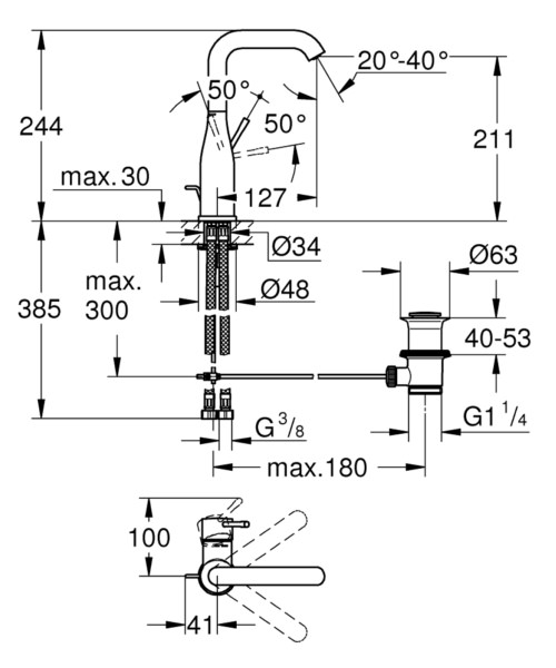 Technical drawing 44873 / 32628001