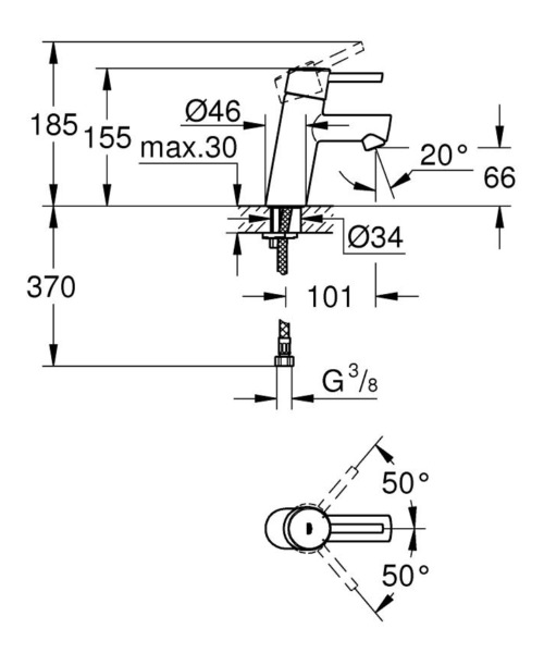 Technical drawing 51680 / 3224010E