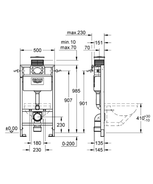Technical drawing 25402 / 38889000