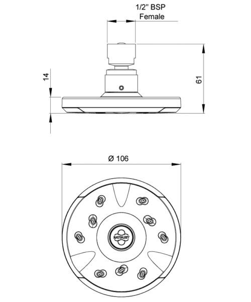 Technical drawing 41310 / SJK005-LF