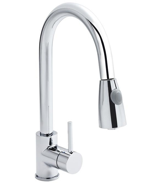 Nuie Premier Pull-Out Kitchen Mixer Tap