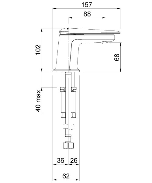Technical drawing 41327 / AOBMCPUK