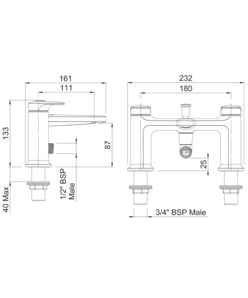 Technical drawing 41328 / AOBSMCPUK