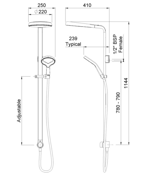 Technical drawing 41333 / AOSSCPUK