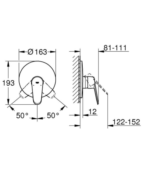 Technical drawing 54078 / 19549LS2