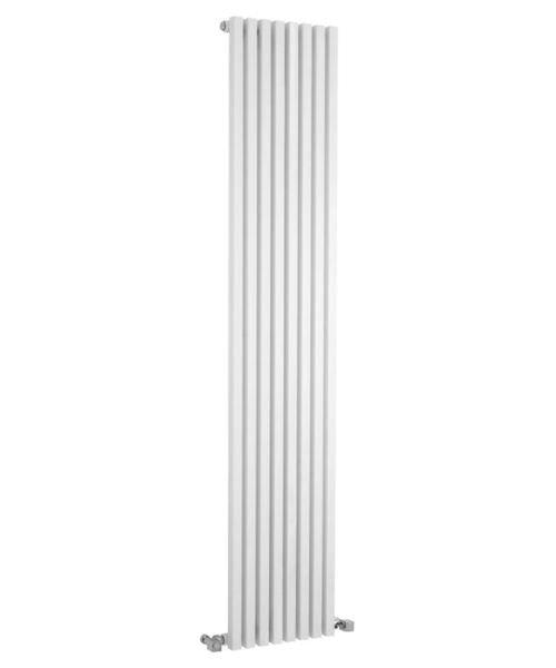 Hudson Reed Kinetic 360 x 1800mm White Vertical Designer Radiator