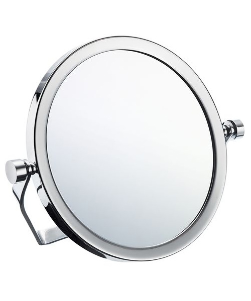 Smedbo Outline Travel Round Mirror With Swivel Stand