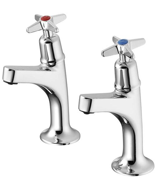 Armitage Shanks Sandringham 21 Sink Pillar Taps