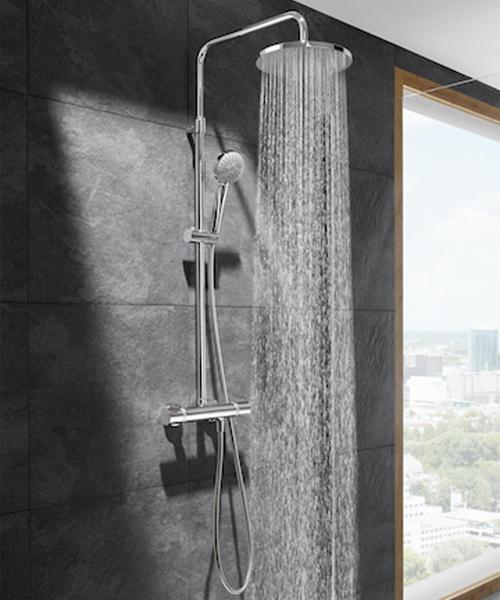 Roca Even Thermostatic Shower Column