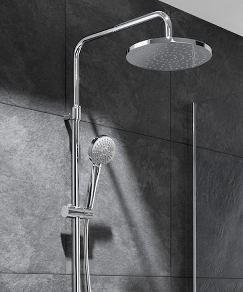 Alternate image of Roca Even Thermostatic Shower Column
