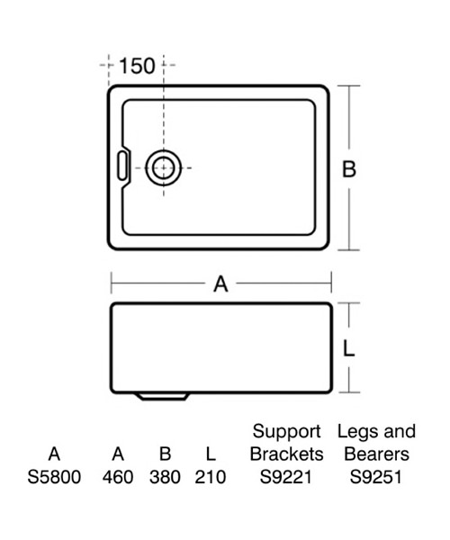 Technical drawing 40625 / S580001