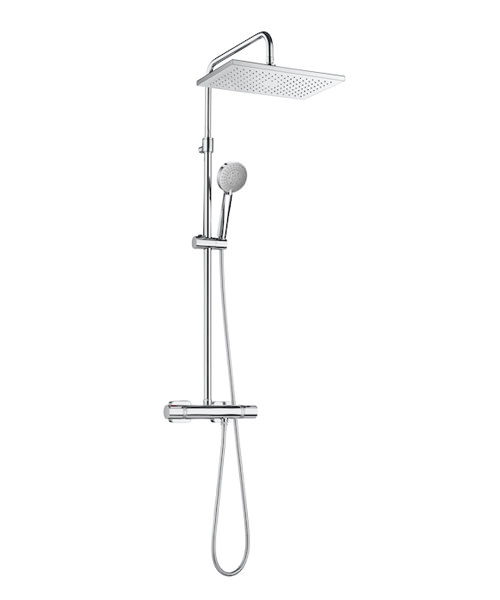 Additional image of Roca Even Thermostatic Shower Column