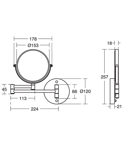 Technical drawing 17572 / A9111AA