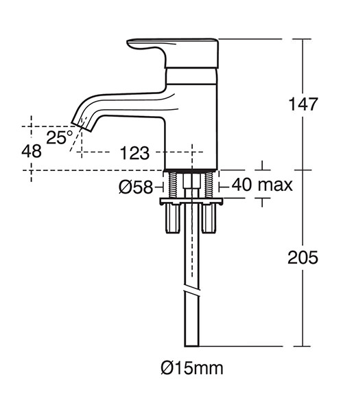 Technical drawing 11594 / E6397AA