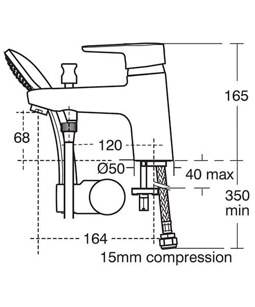 Technical drawing 20419 / B9990AA