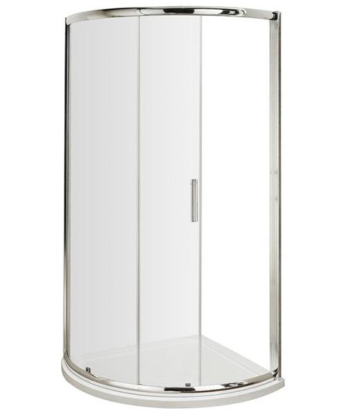 Lauren Pacific Single Entry 860 x 860mm Quadrant Shower Enclosure