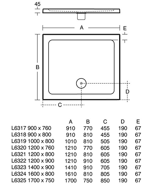 Technical drawing 22075 / L631701