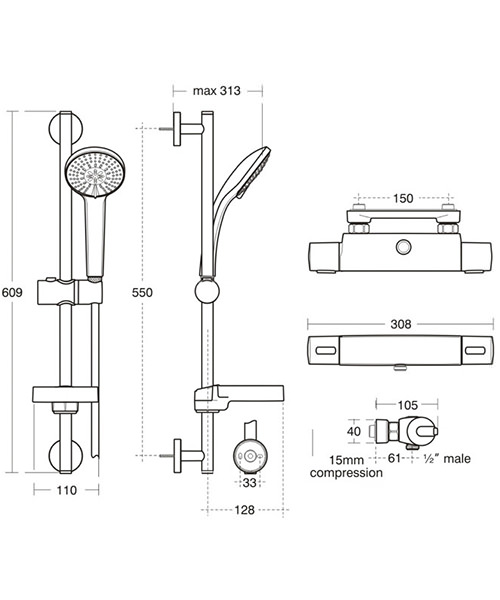 Technical drawing 20454 / A4814AA
