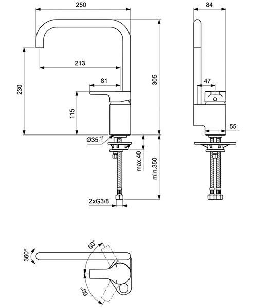 Technical drawing 26819 / B8084AA
