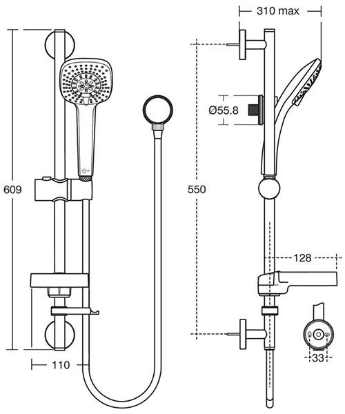 Technical drawing 20536 / B0009AA
