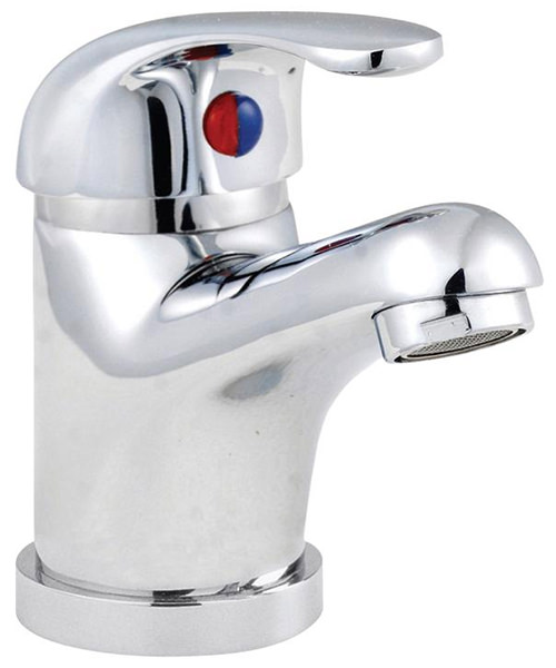 Lauren D-Type Mono Basin Mixer Tap With Pop-Up Waste
