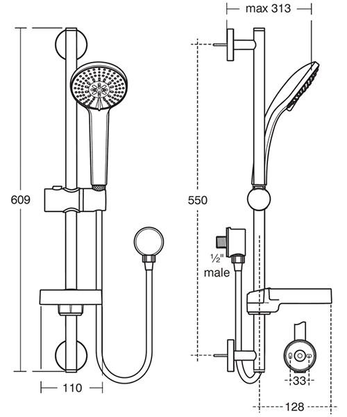 Technical drawing 20505 / B9413AA