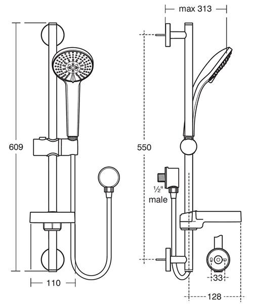 Technical drawing 20506 / B9416AA