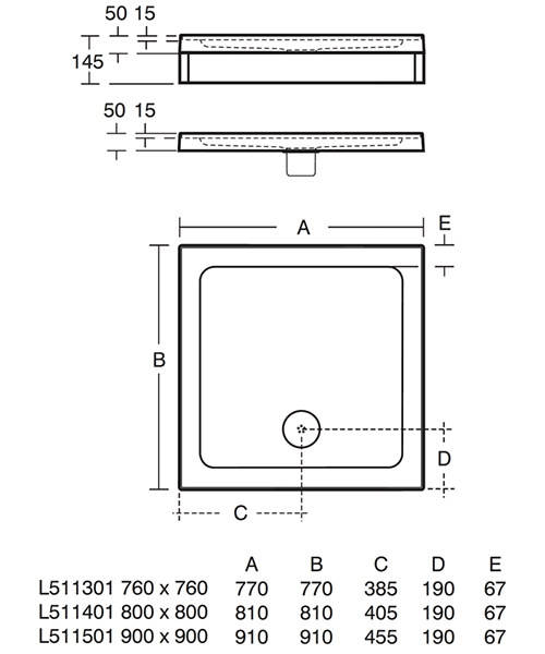 Technical drawing 17532 / L511501