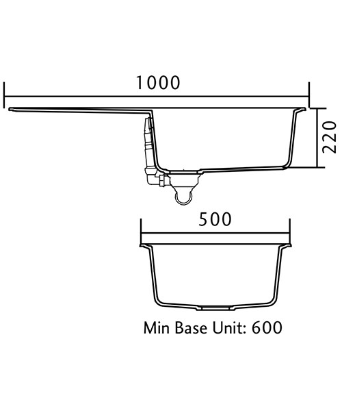 Technical drawing 48767 / AME1051AS/