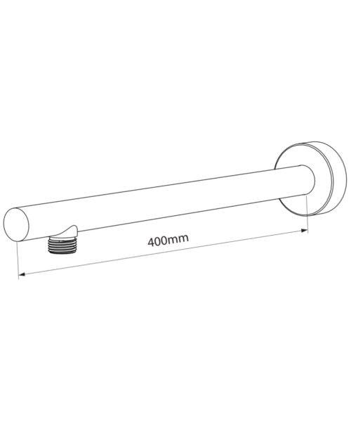 Technical drawing 50776 / TSARMCIR400H