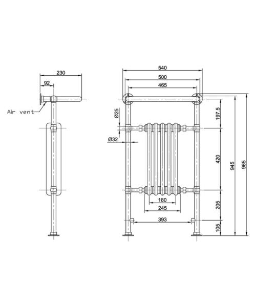 Technical drawing 53549 / HTD06