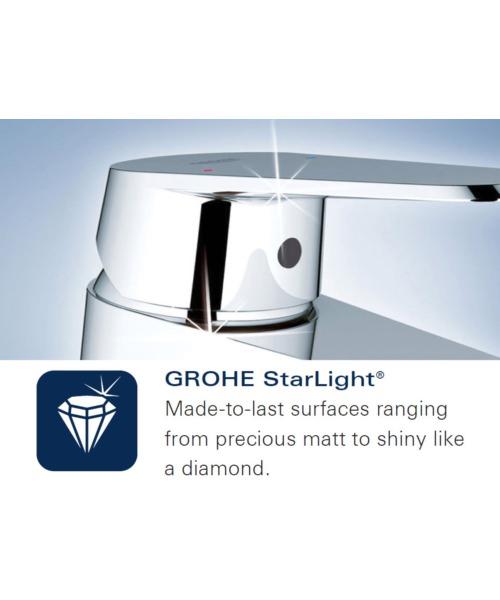 Additional image of Grohe Euphoria 110 Mono Single Spray Shower Rail Set