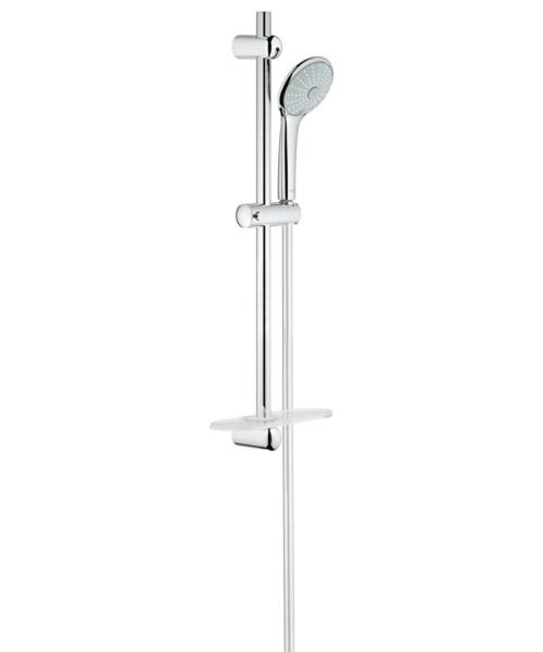Grohe Euphoria 110 Mono Single Spray Shower Rail Set